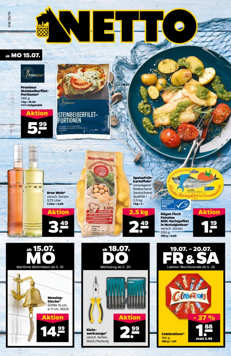NETTO Supermarkt Prospekt vom 15.07.2019