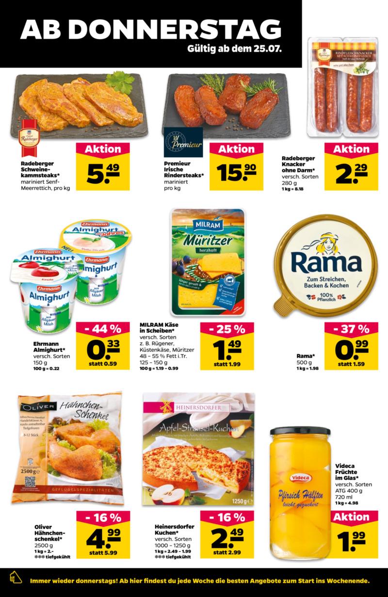 NETTO Supermarkt Prospekt vom 22.07.2019, Seite 17