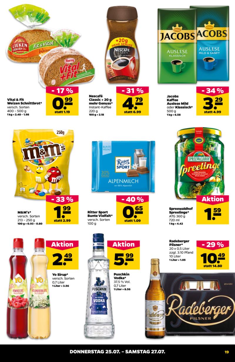 NETTO Supermarkt Prospekt vom 22.07.2019, Seite 18
