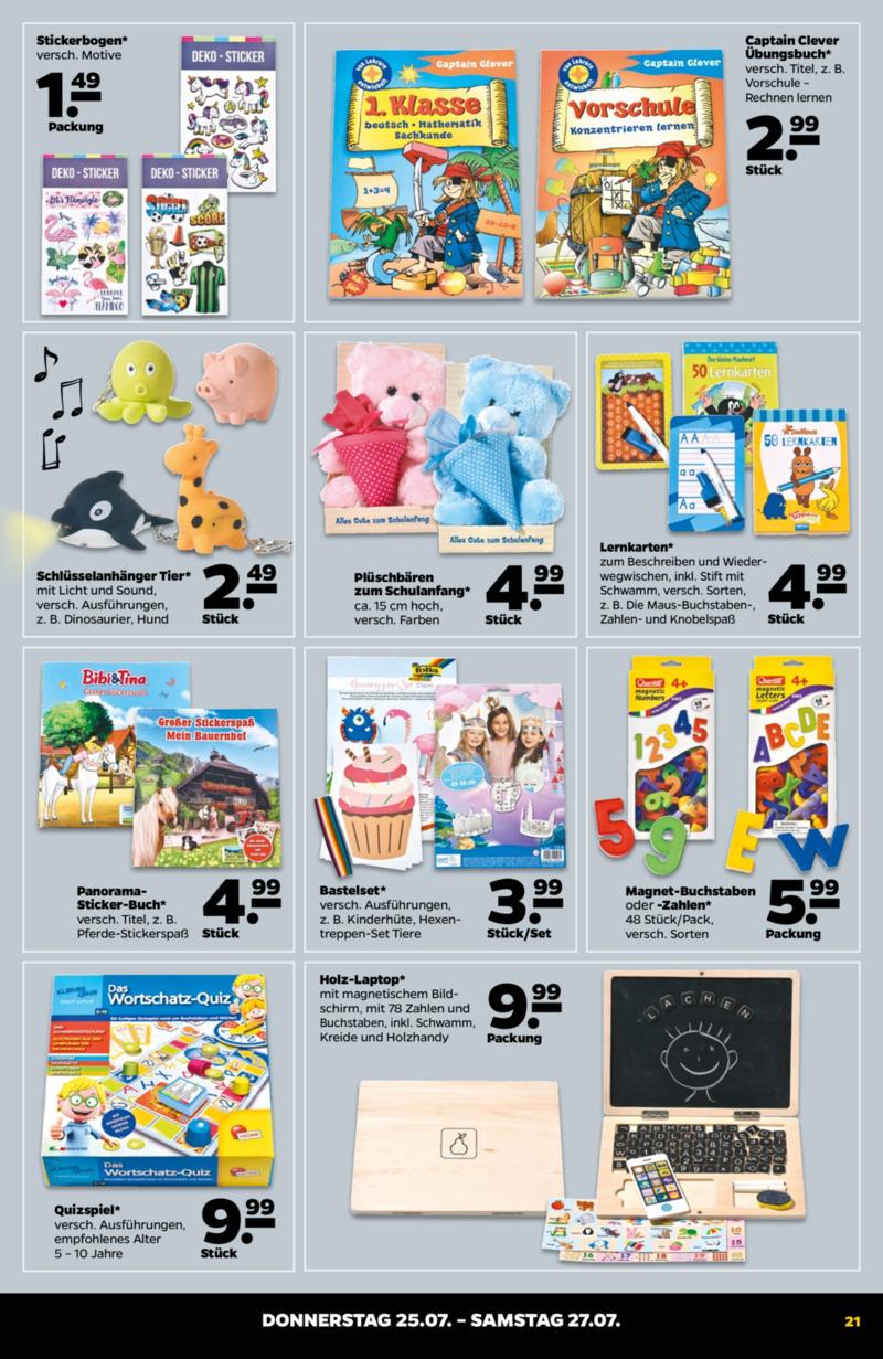 NETTO Supermarkt Prospekt vom 22.07.2019, Seite 20