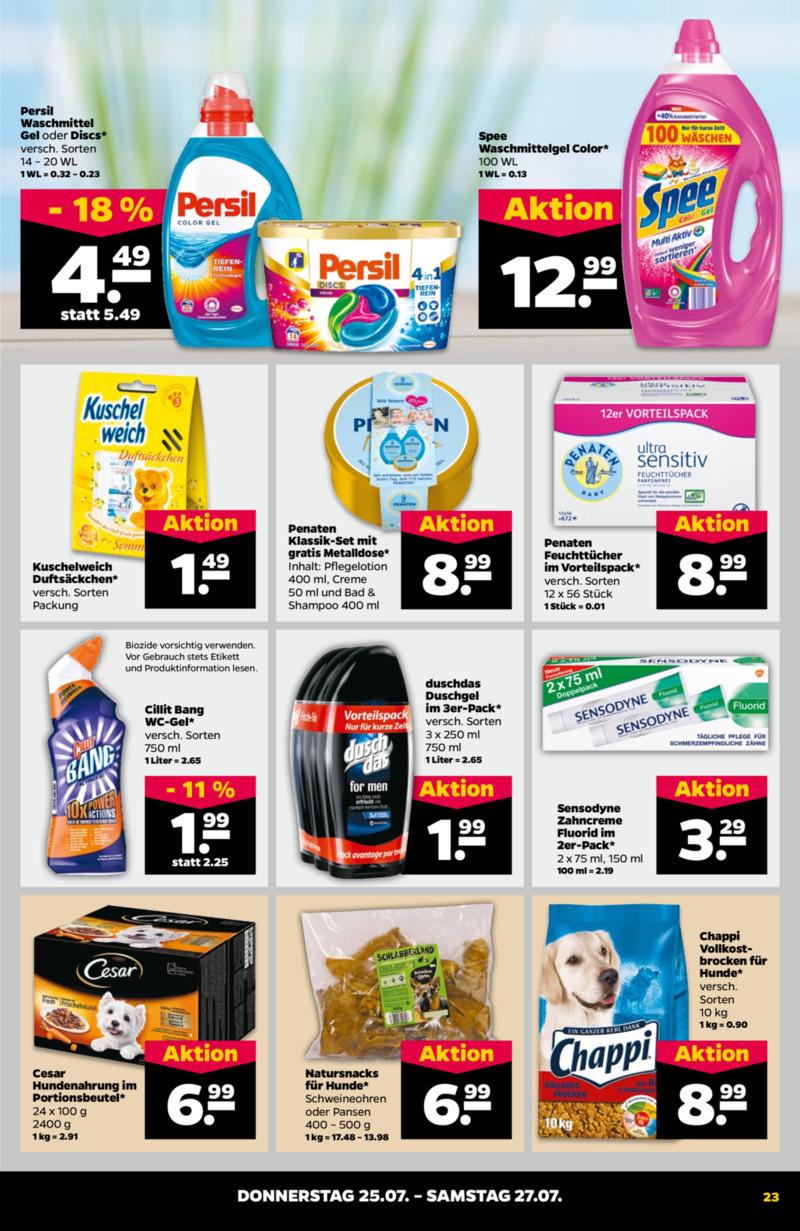NETTO Supermarkt Prospekt vom 22.07.2019, Seite 22