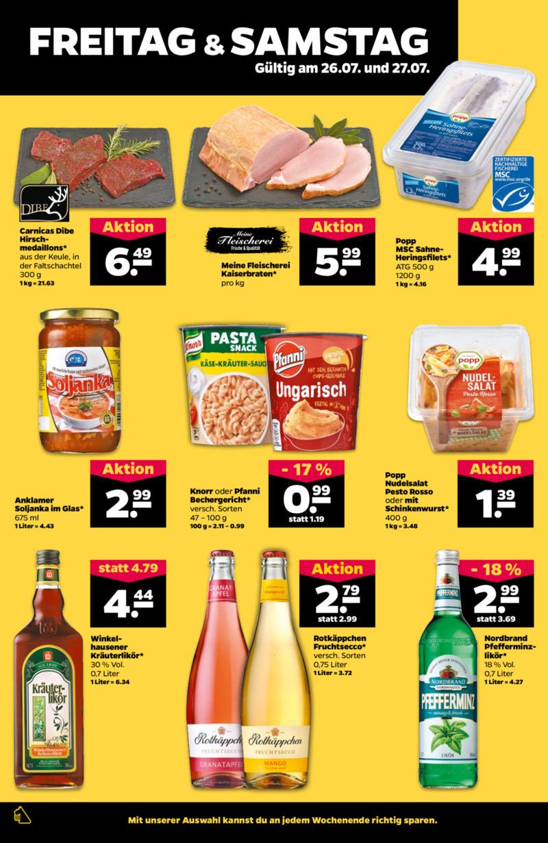 NETTO Supermarkt Prospekt vom 22.07.2019, Seite 25