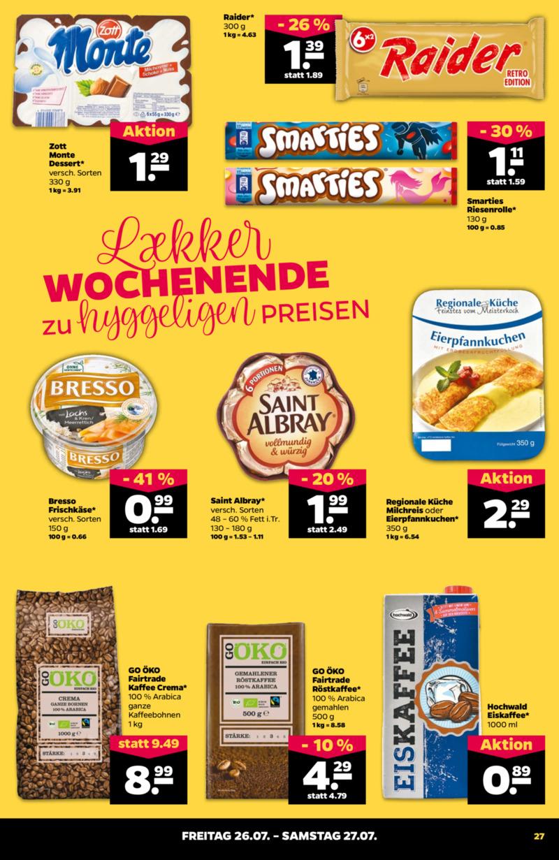 NETTO Supermarkt Prospekt vom 22.07.2019, Seite 26