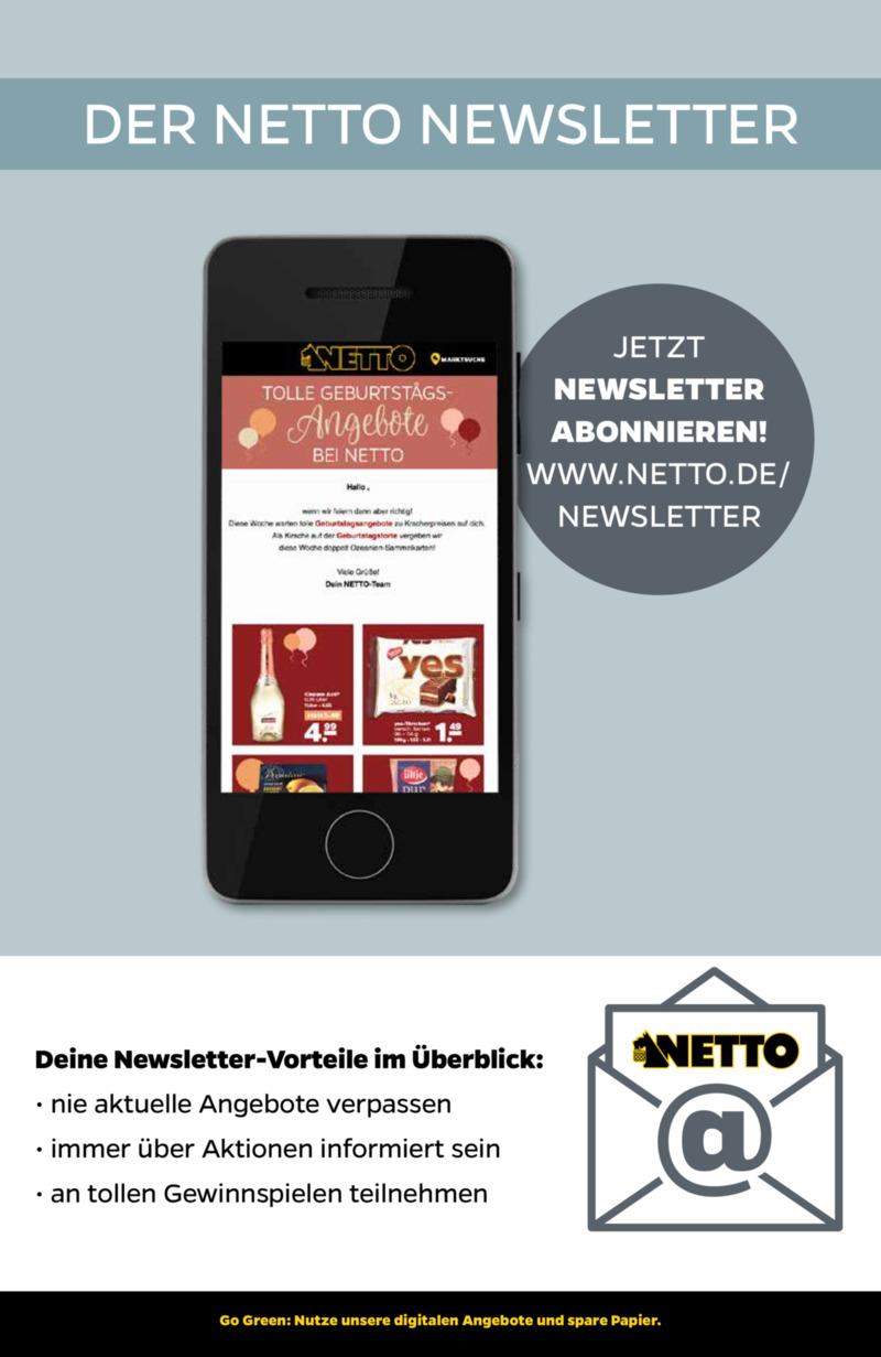 NETTO Supermarkt Prospekt vom 22.07.2019, Seite 28