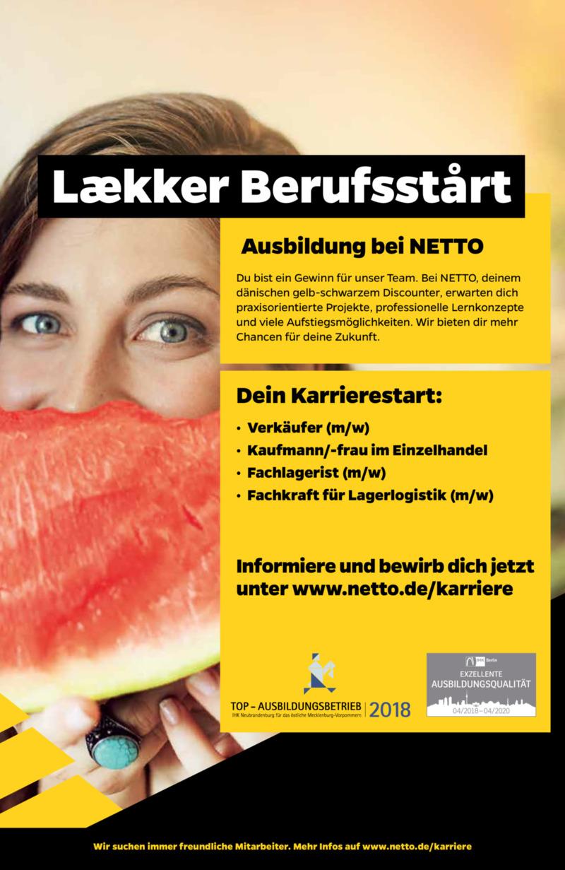 NETTO Supermarkt Prospekt vom 22.07.2019, Seite 30