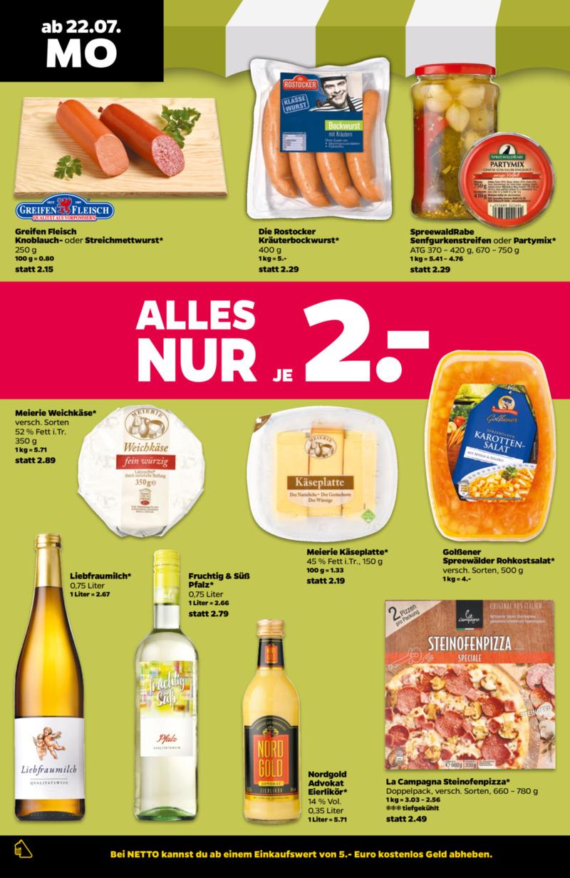 NETTO Supermarkt Prospekt vom 22.07.2019, Seite 5