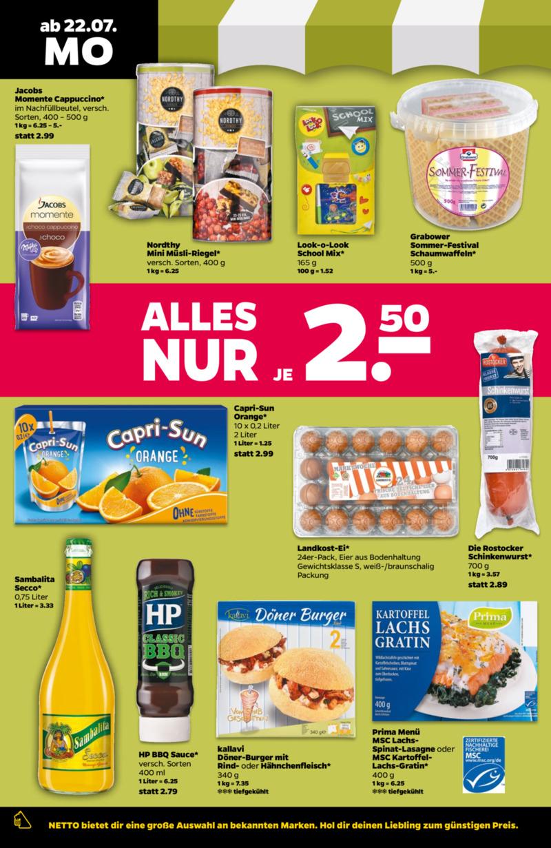 NETTO Supermarkt Prospekt vom 22.07.2019, Seite 7