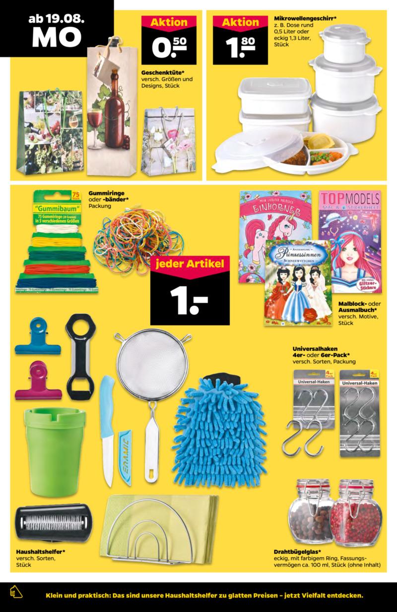 NETTO Supermarkt Prospekt vom 19.08.2019, Seite 9