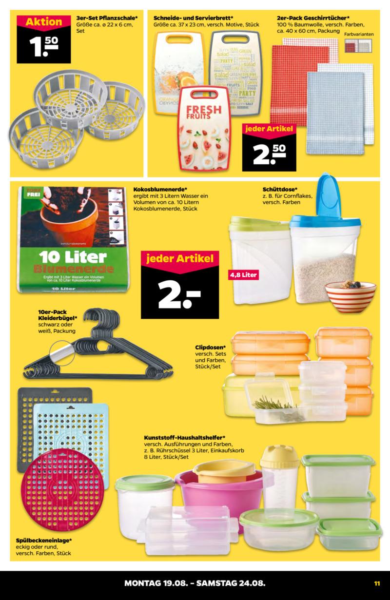 NETTO Supermarkt Prospekt vom 19.08.2019, Seite 10
