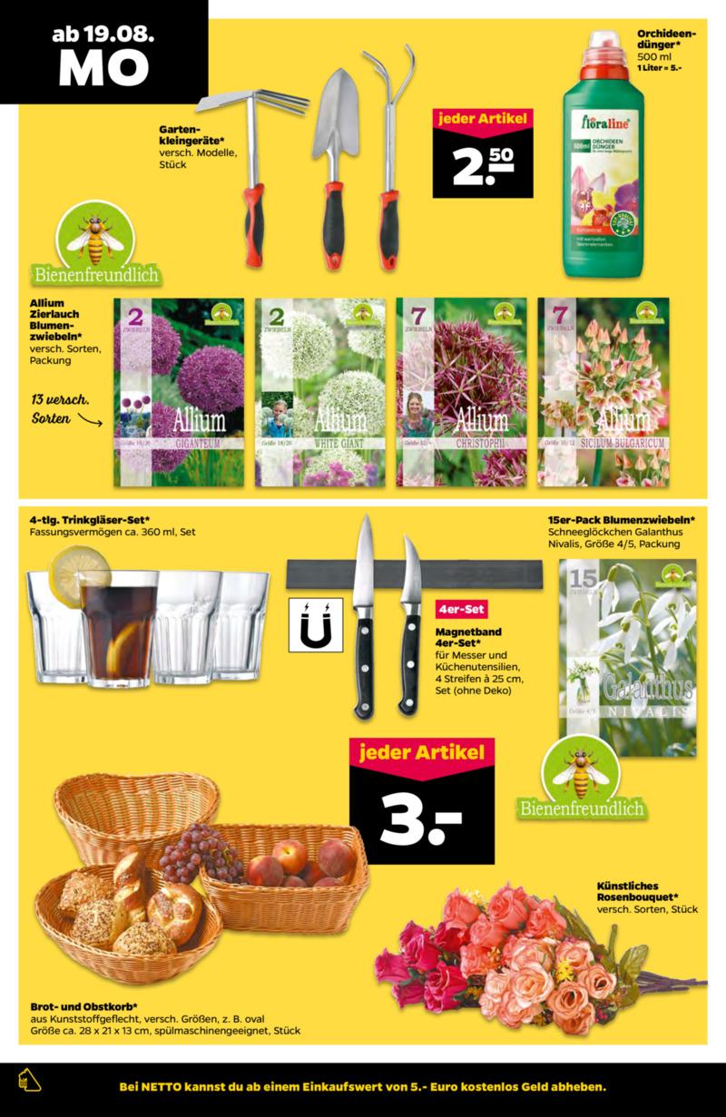 NETTO Supermarkt Prospekt vom 19.08.2019, Seite 11
