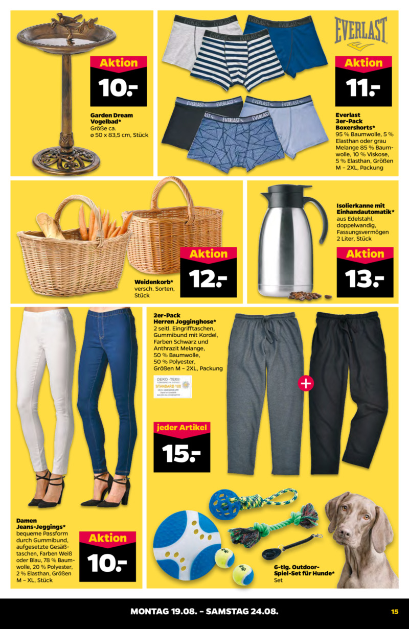 NETTO Supermarkt Prospekt vom 19.08.2019, Seite 14