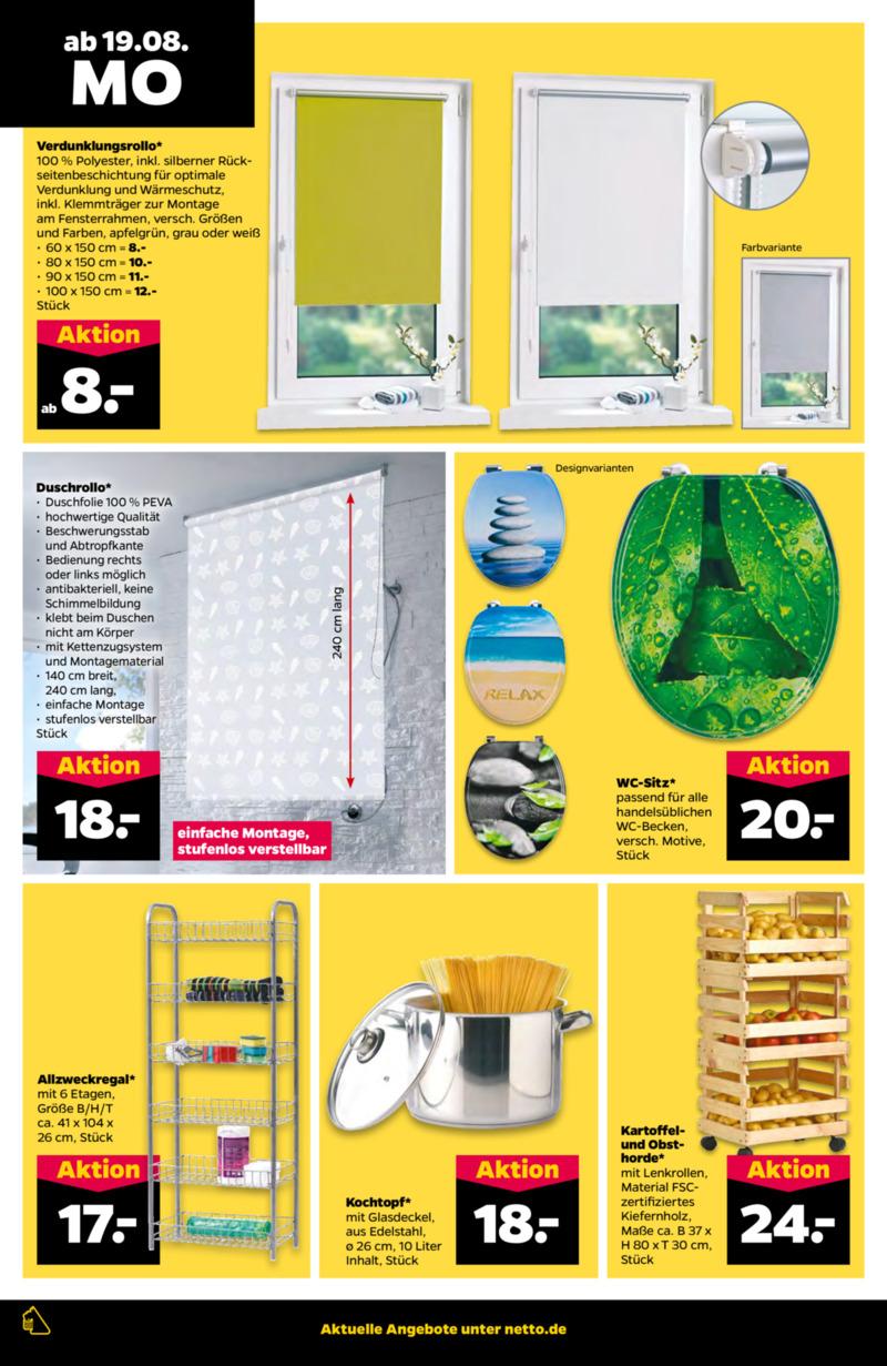 NETTO Supermarkt Prospekt vom 19.08.2019, Seite 15