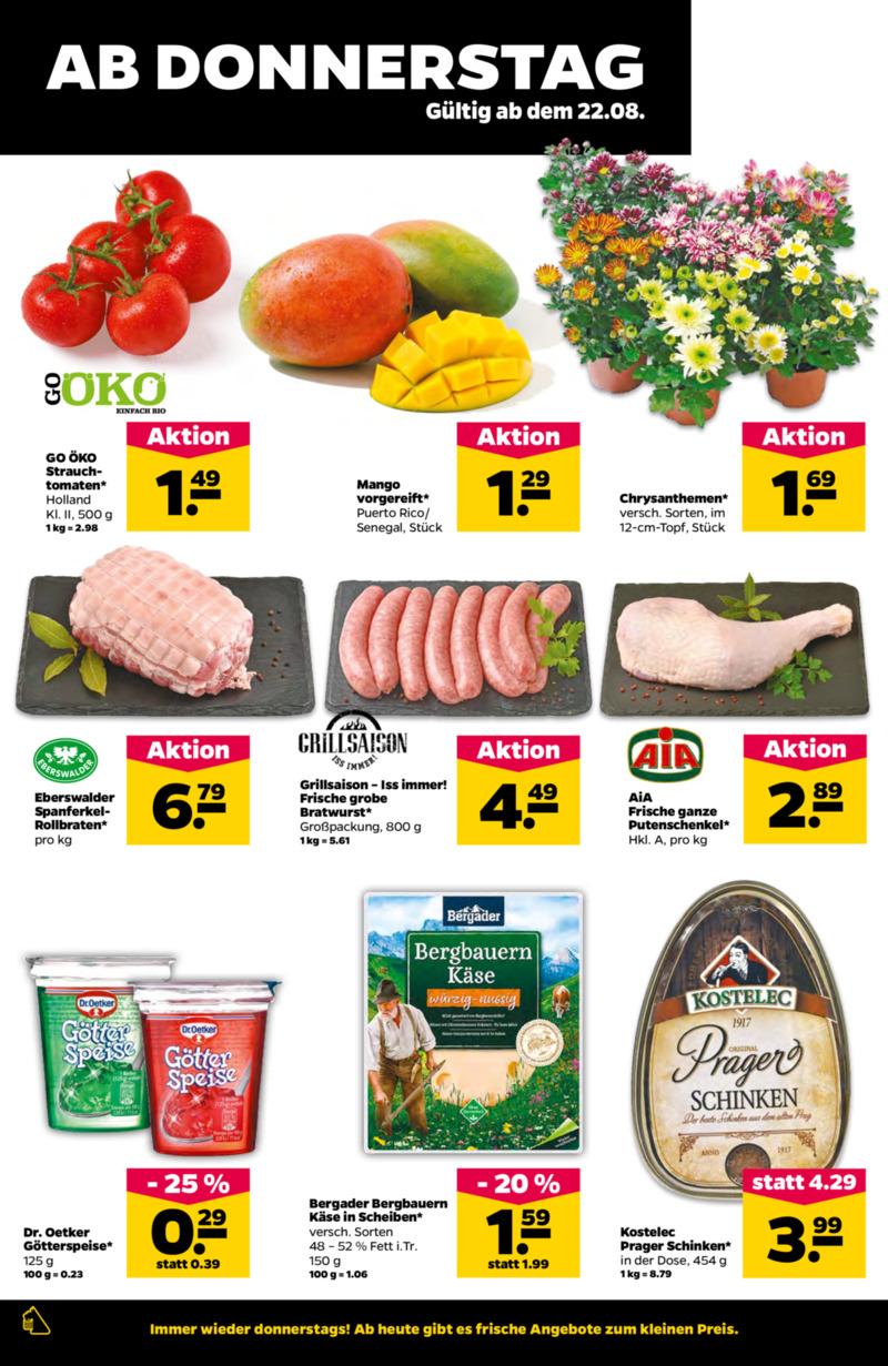 NETTO Supermarkt Prospekt vom 19.08.2019, Seite 17