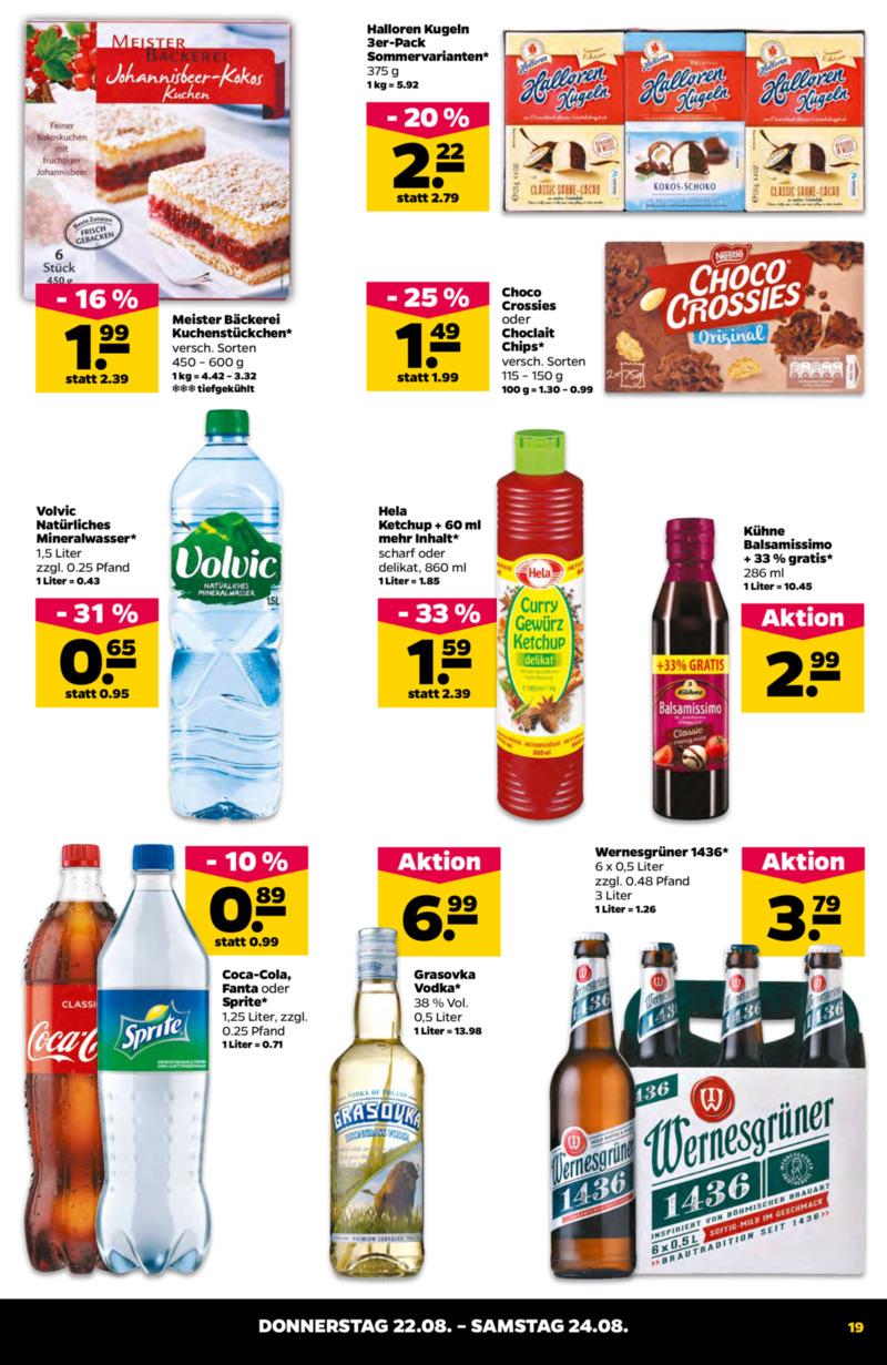 NETTO Supermarkt Prospekt vom 19.08.2019, Seite 18