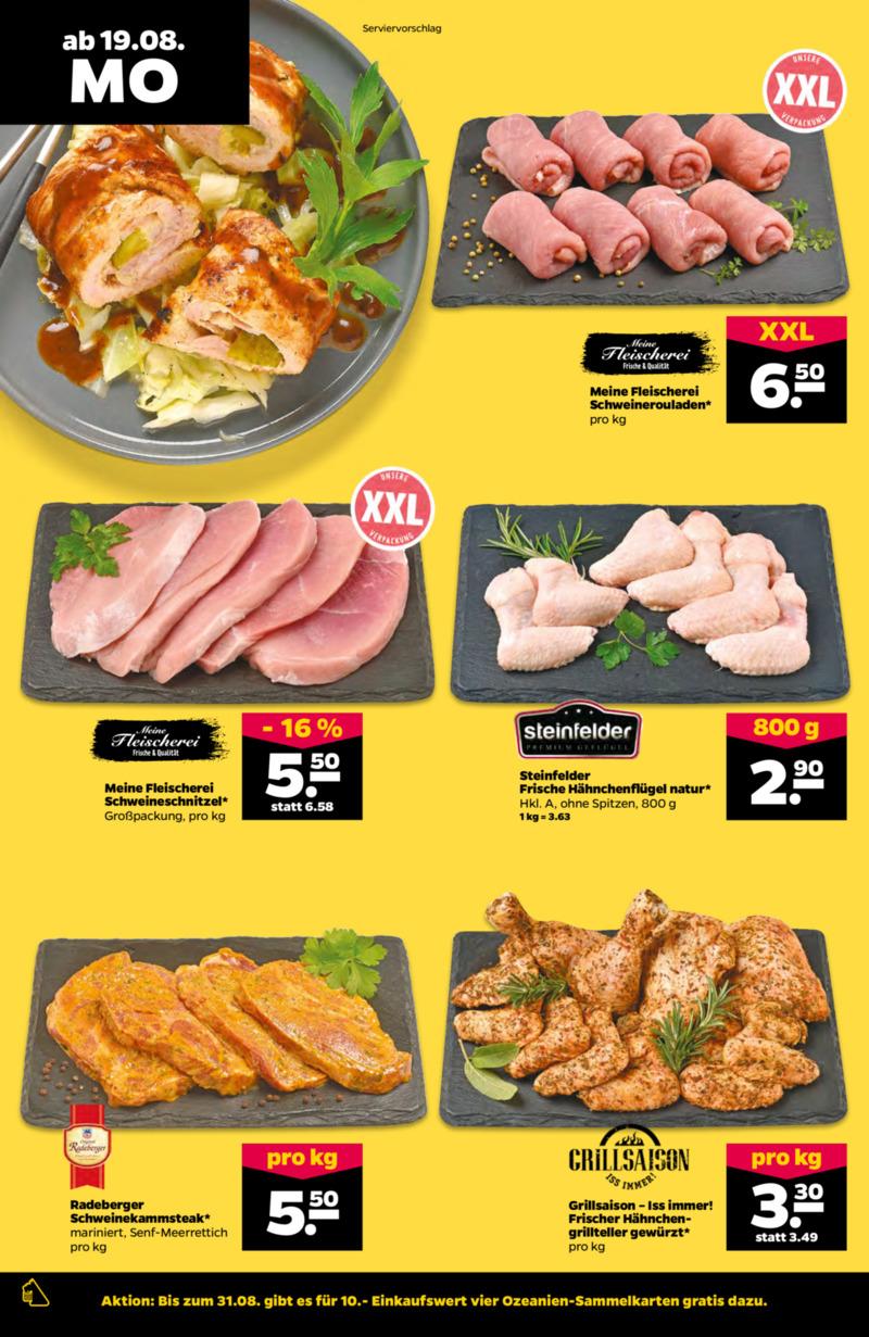 NETTO Supermarkt Prospekt vom 19.08.2019, Seite 1
