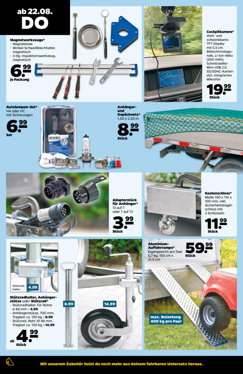 NETTO Supermarkt Prospekt vom 19.08.2019, Seite 19