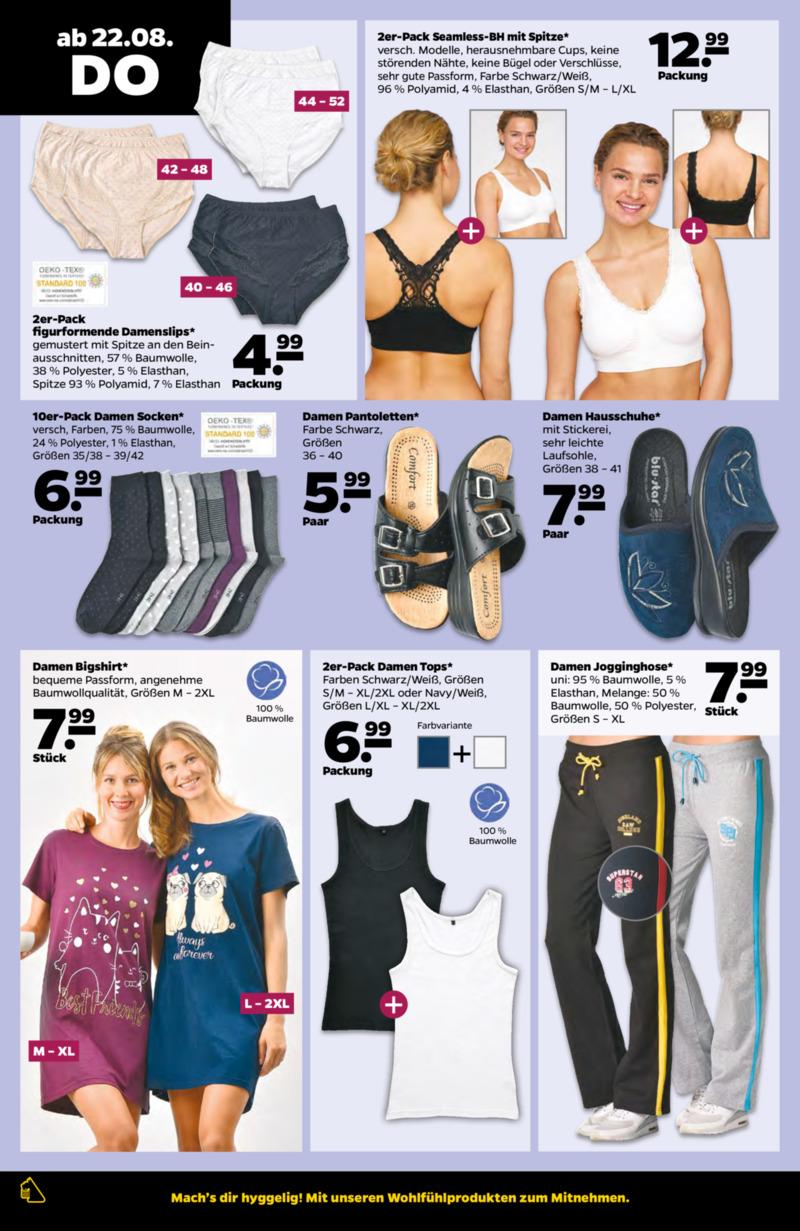 NETTO Supermarkt Prospekt vom 19.08.2019, Seite 21