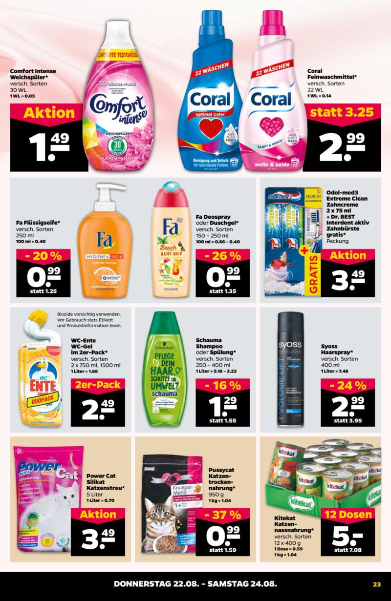 NETTO Supermarkt Prospekt vom 19.08.2019, Seite 22