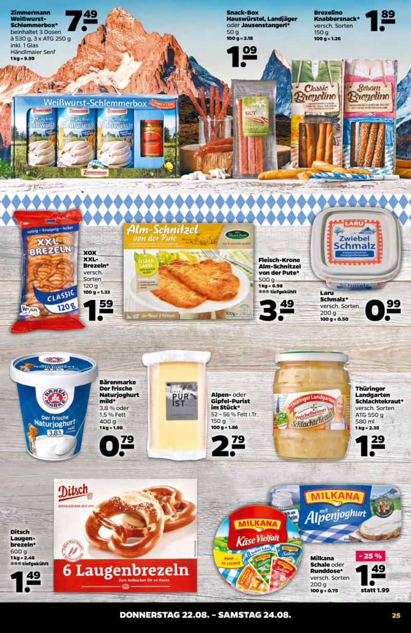 NETTO Supermarkt Prospekt vom 19.08.2019, Seite 24