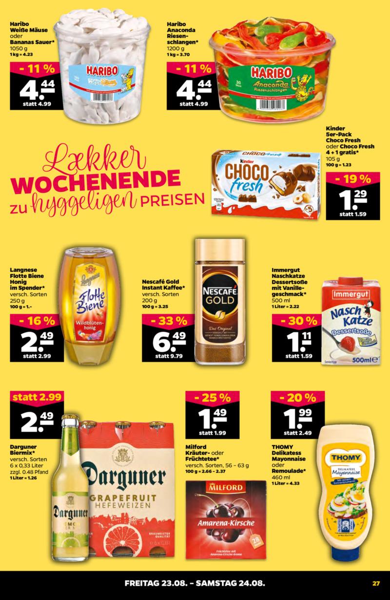 NETTO Supermarkt Prospekt vom 19.08.2019, Seite 26