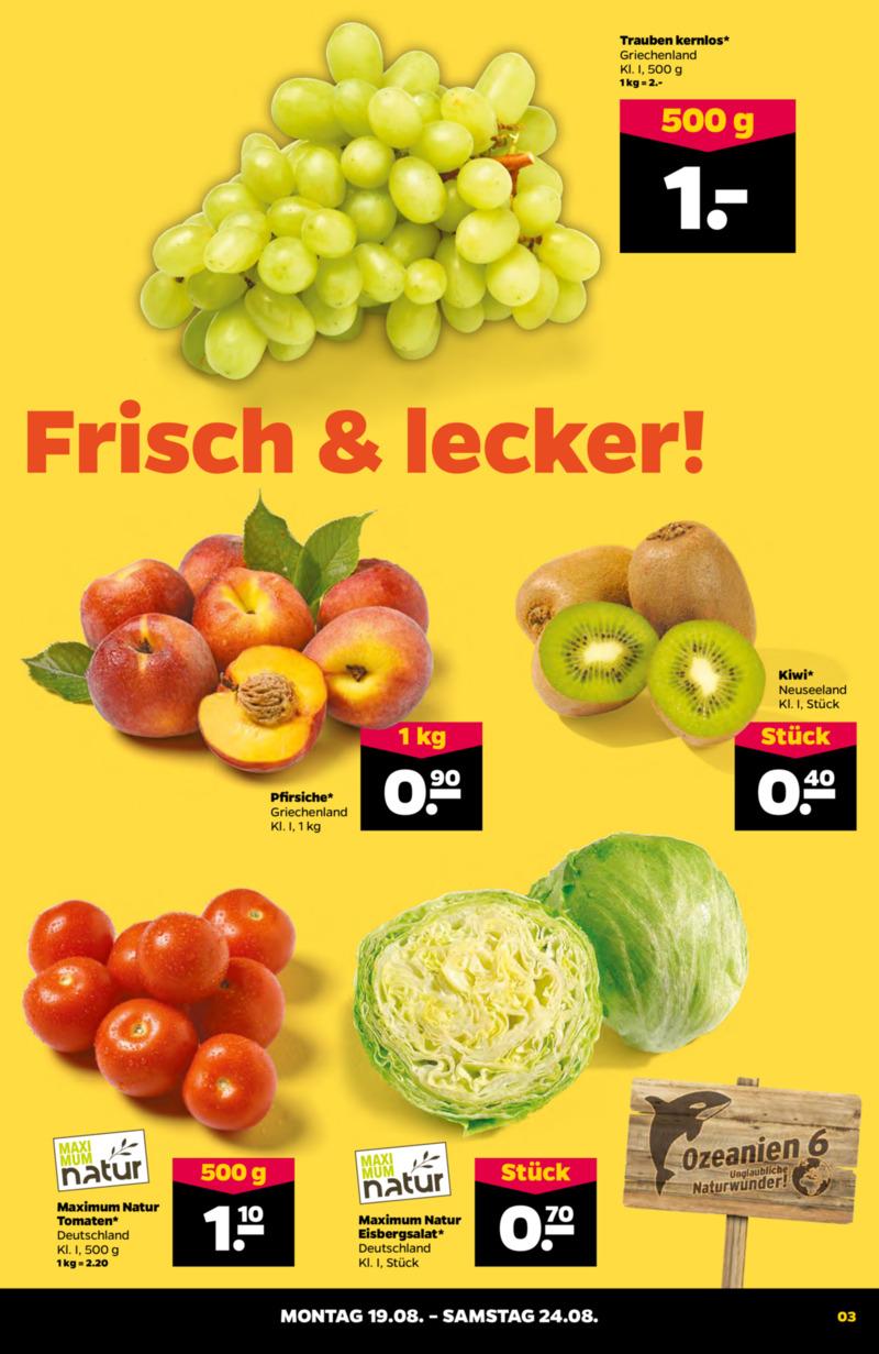 NETTO Supermarkt Prospekt vom 19.08.2019, Seite 2