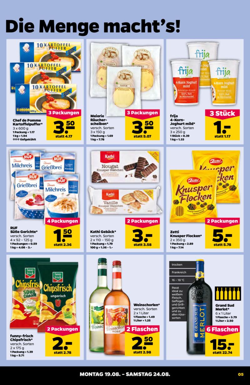 NETTO Supermarkt Prospekt vom 19.08.2019, Seite 4