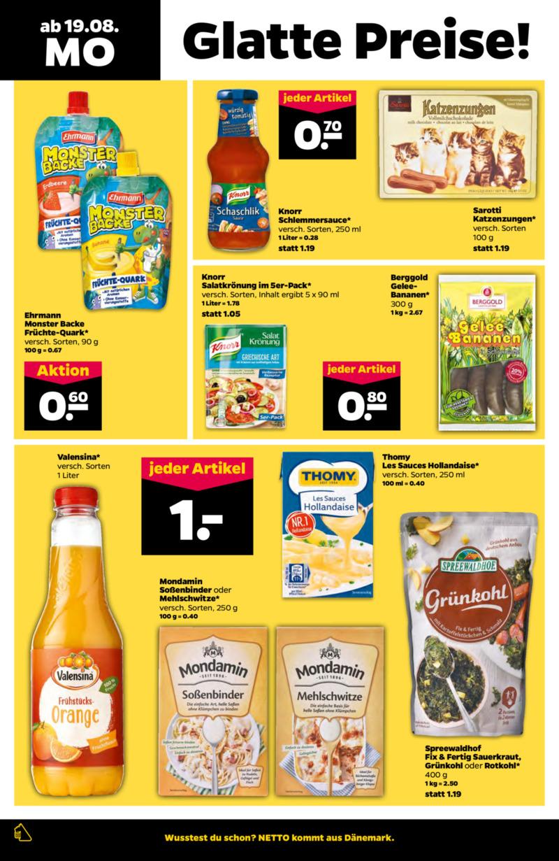 NETTO Supermarkt Prospekt vom 19.08.2019, Seite 5