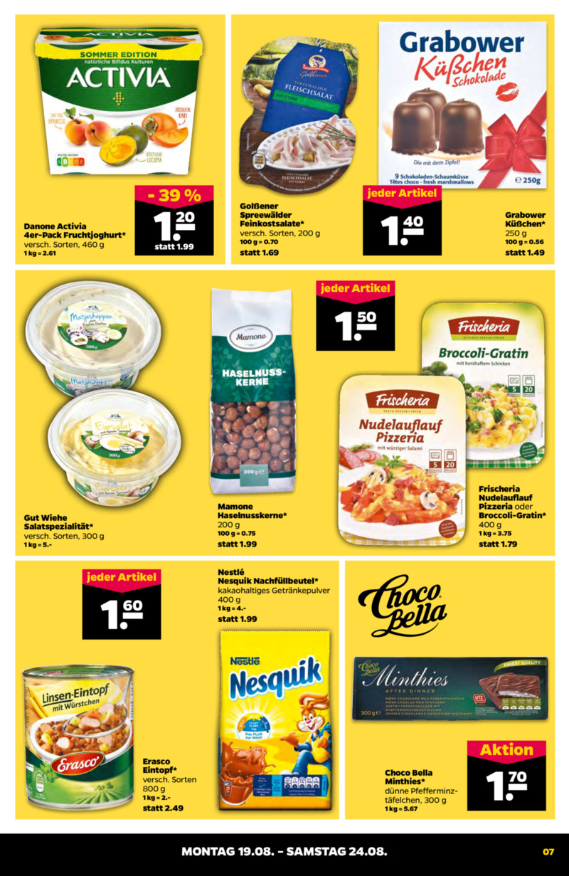 NETTO Supermarkt Prospekt vom 19.08.2019, Seite 6