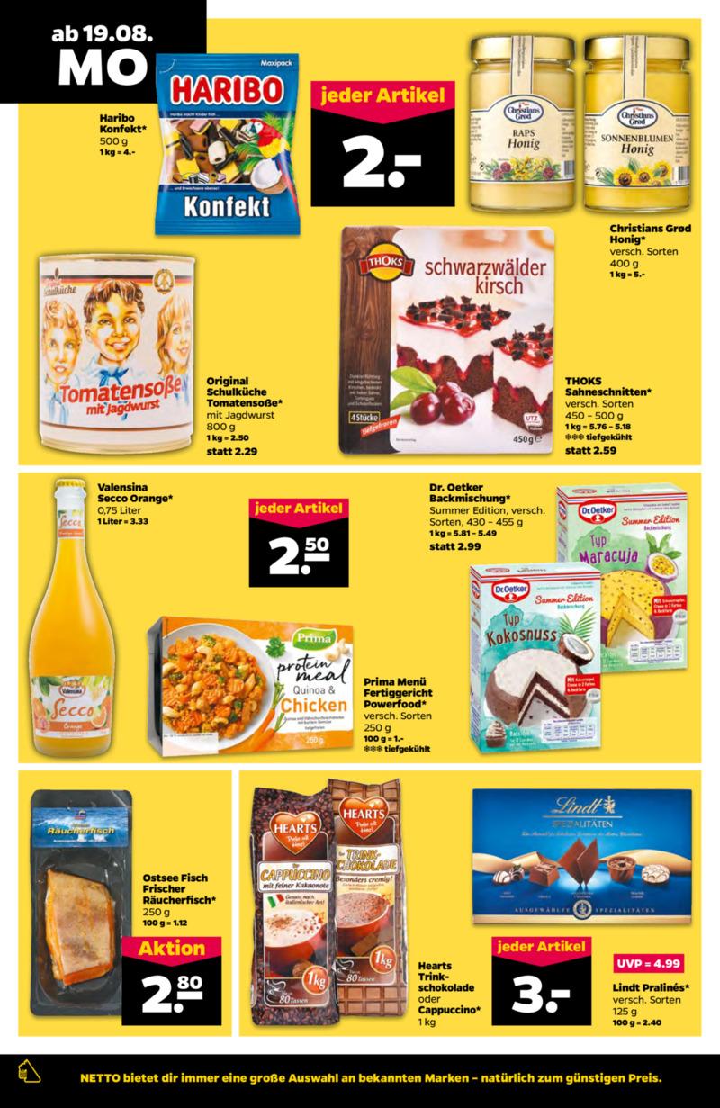 NETTO Supermarkt Prospekt vom 19.08.2019, Seite 7