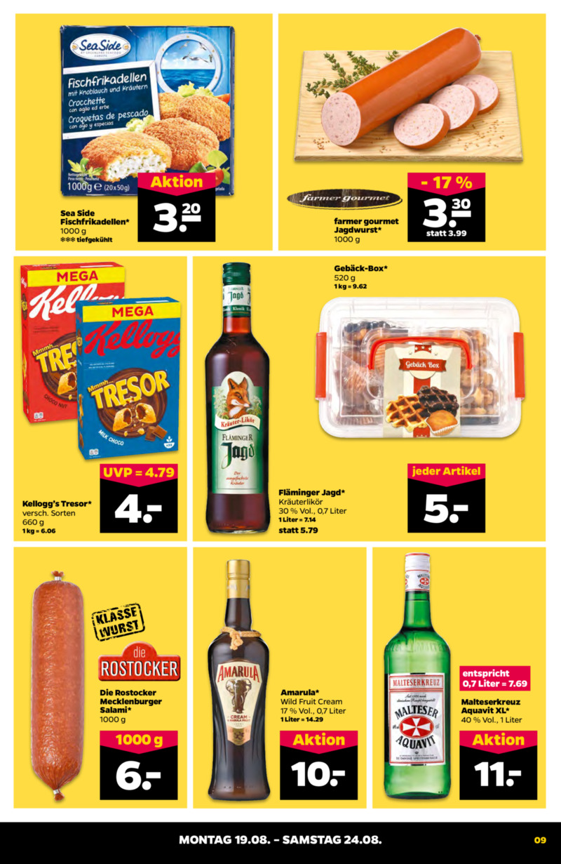 NETTO Supermarkt Prospekt vom 19.08.2019, Seite 8
