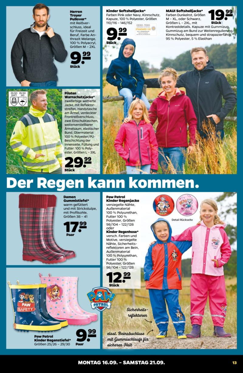 NETTO Supermarkt Prospekt vom 16.09.2019, Seite 12