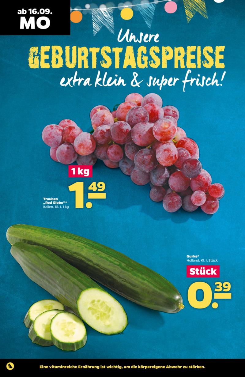 NETTO Supermarkt Prospekt vom 16.09.2019, Seite 1