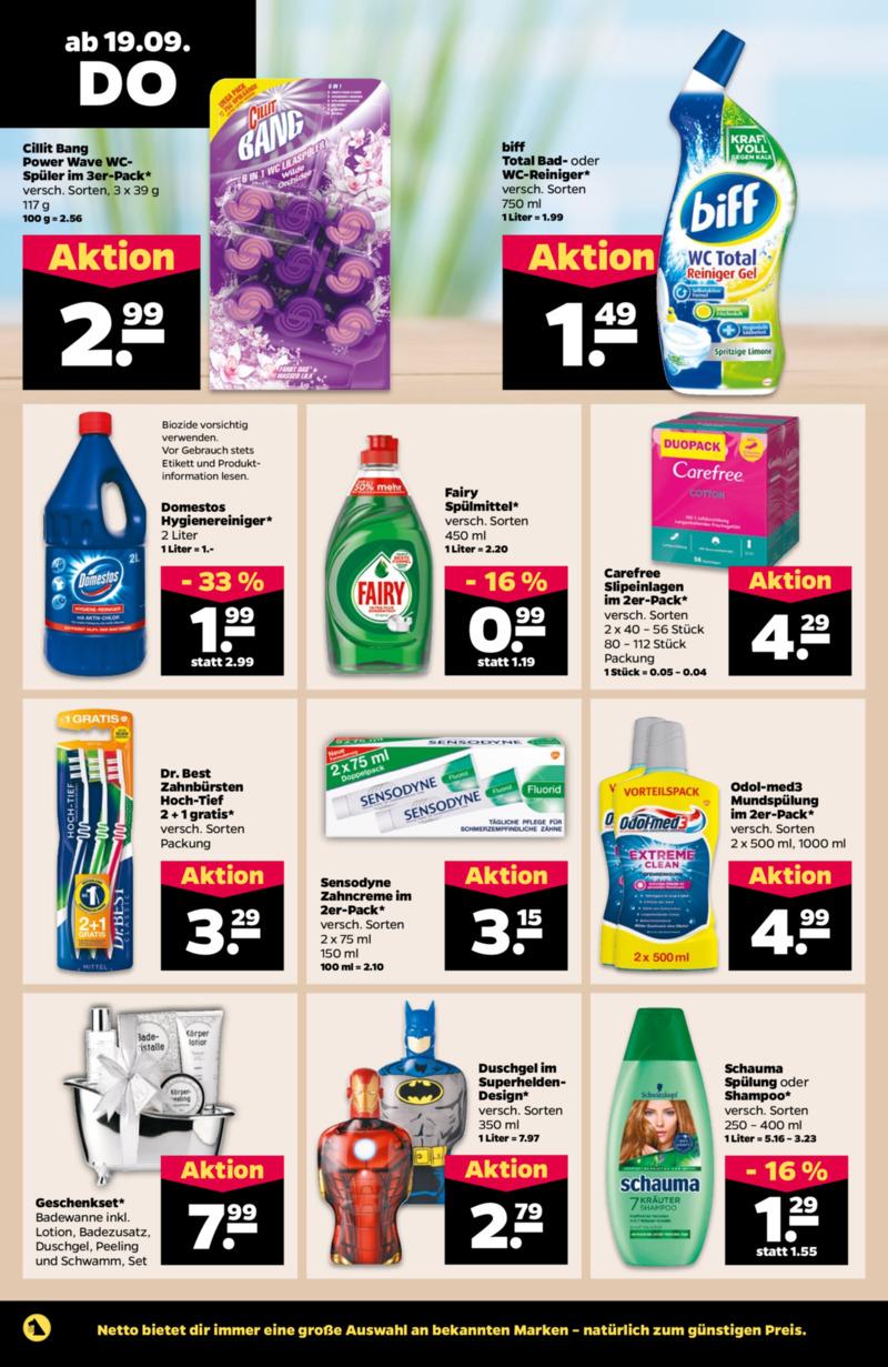 NETTO Supermarkt Prospekt vom 16.09.2019, Seite 21