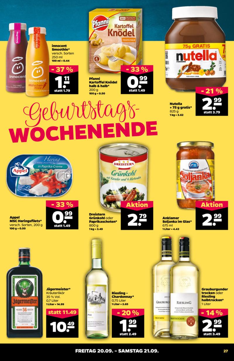 NETTO Supermarkt Prospekt vom 16.09.2019, Seite 26