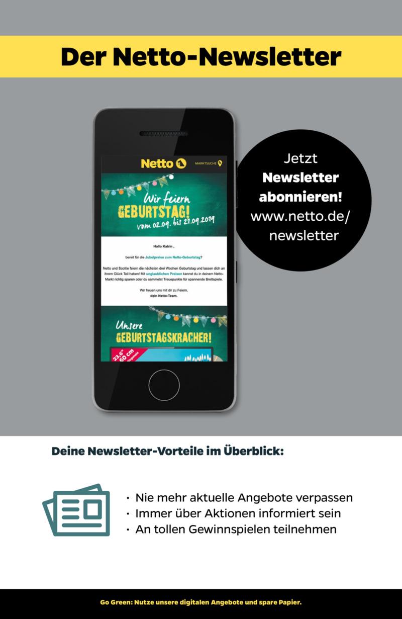 NETTO Supermarkt Prospekt vom 16.09.2019, Seite 28