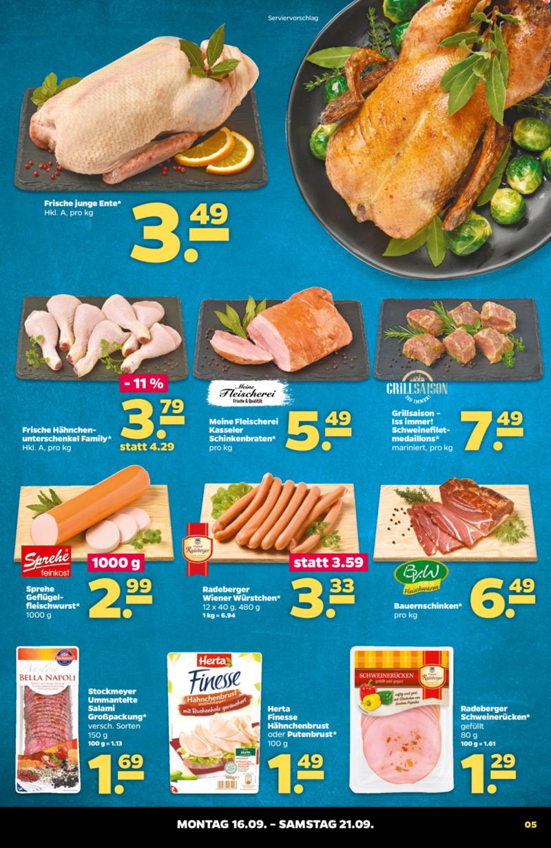 NETTO Supermarkt Prospekt vom 16.09.2019, Seite 4
