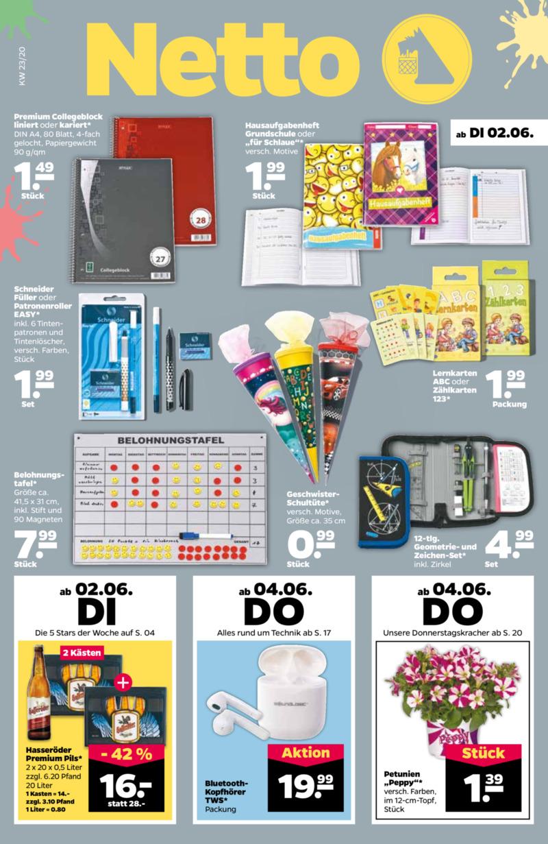 NETTO Supermarkt Prospekt vom 02.06.2020, Seite