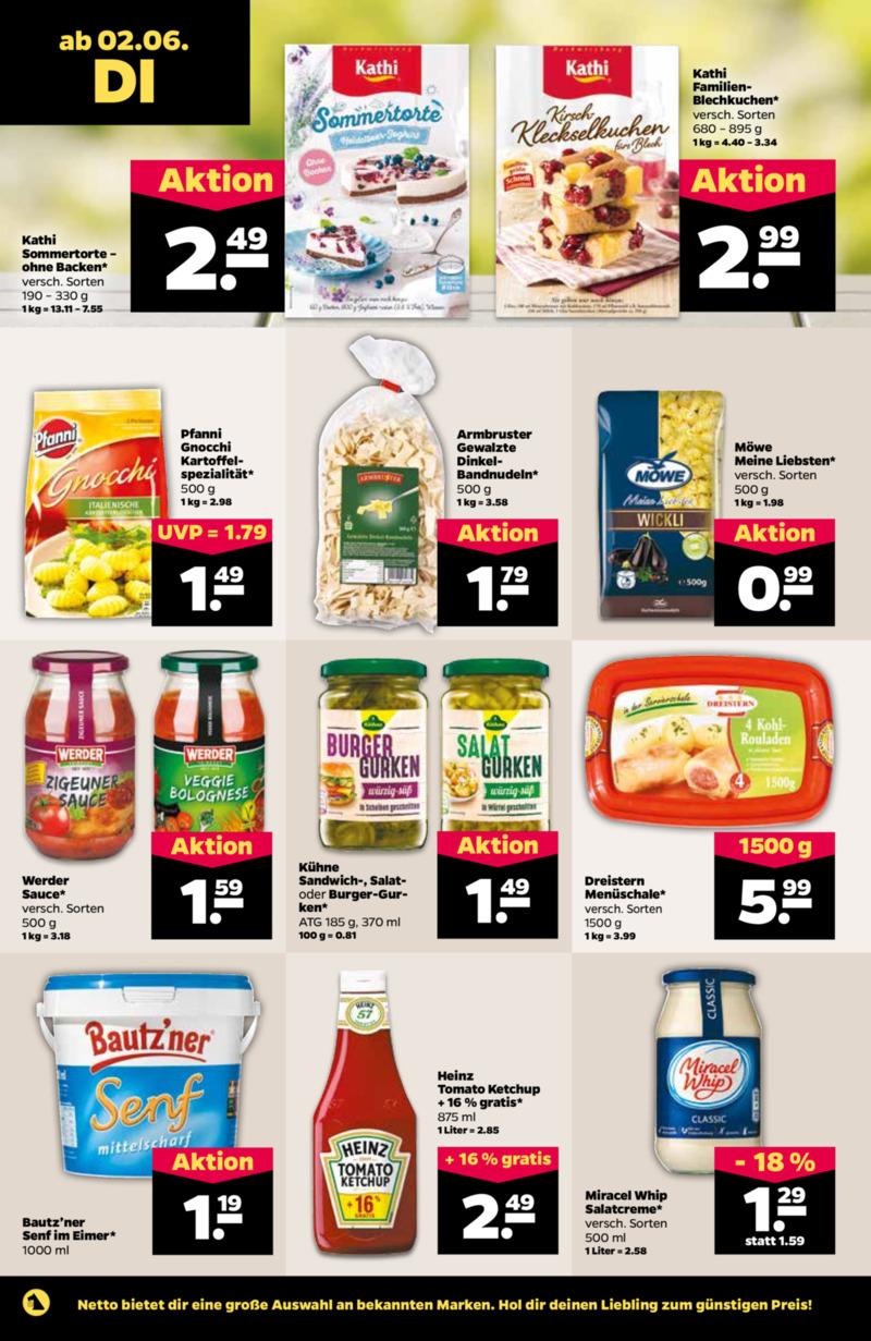 NETTO Supermarkt Prospekt vom 02.06.2020, Seite 9