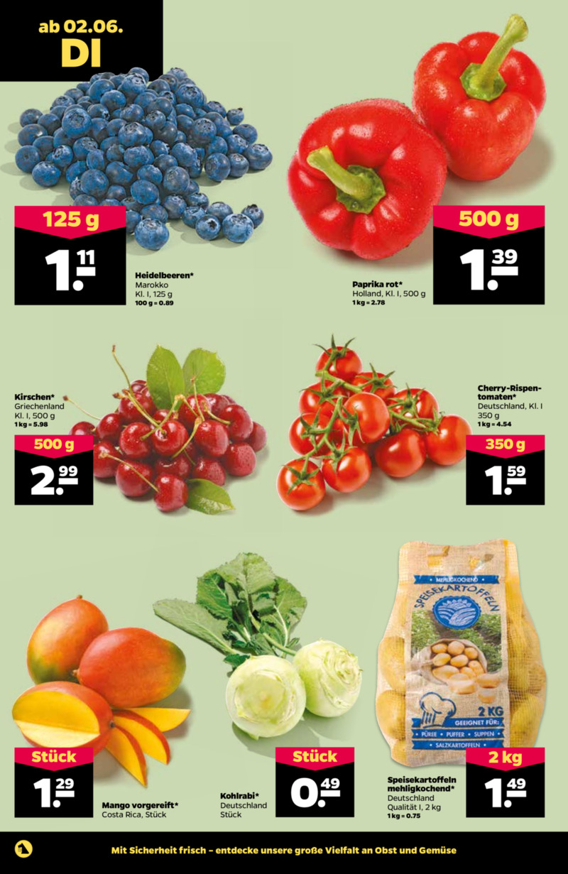 NETTO Supermarkt Prospekt vom 02.06.2020, Seite 1