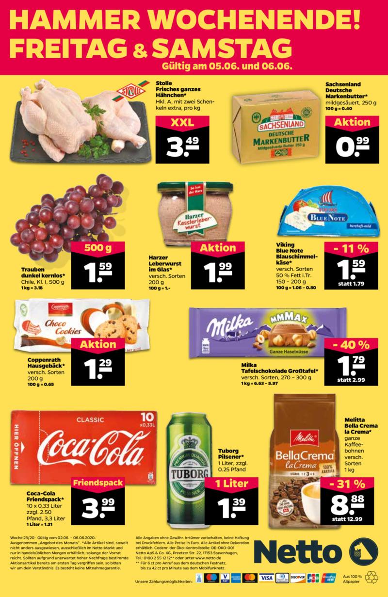 NETTO Supermarkt Prospekt vom 02.06.2020, Seite 23