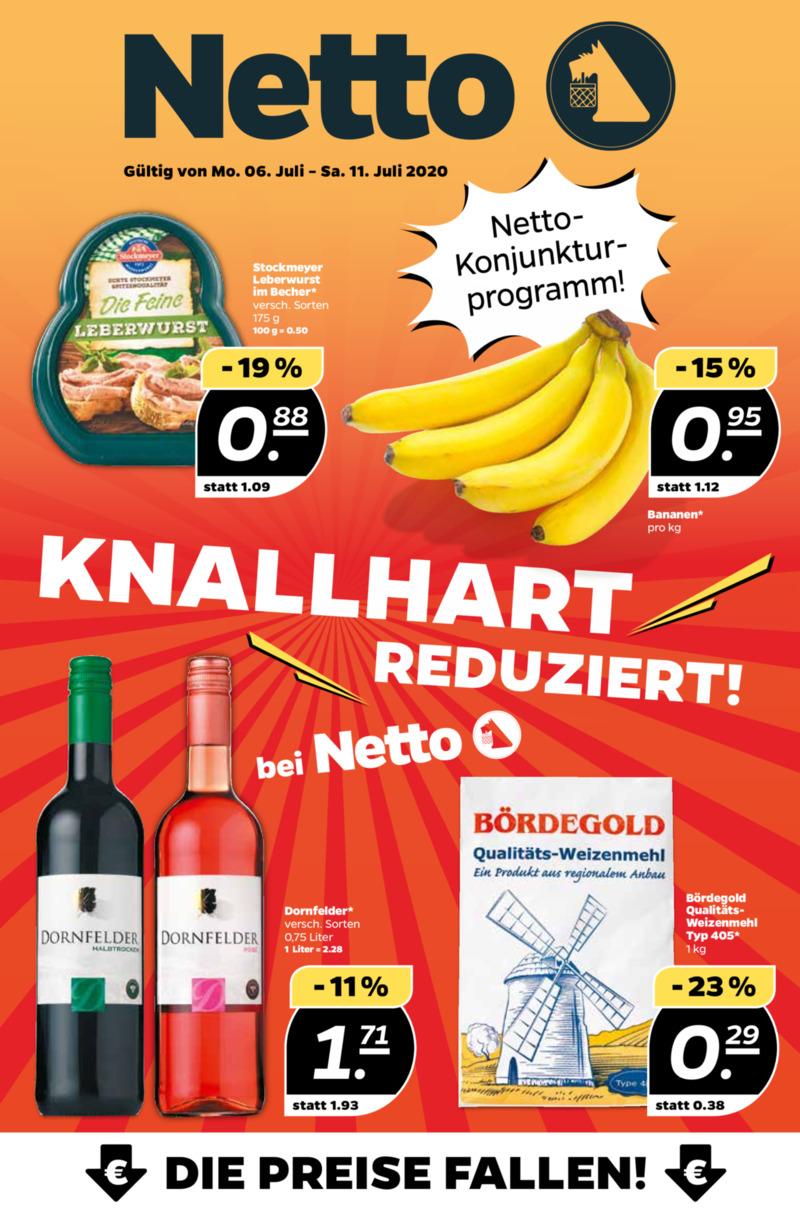 NETTO Supermarkt Prospekt vom 06.07.2020, Seite