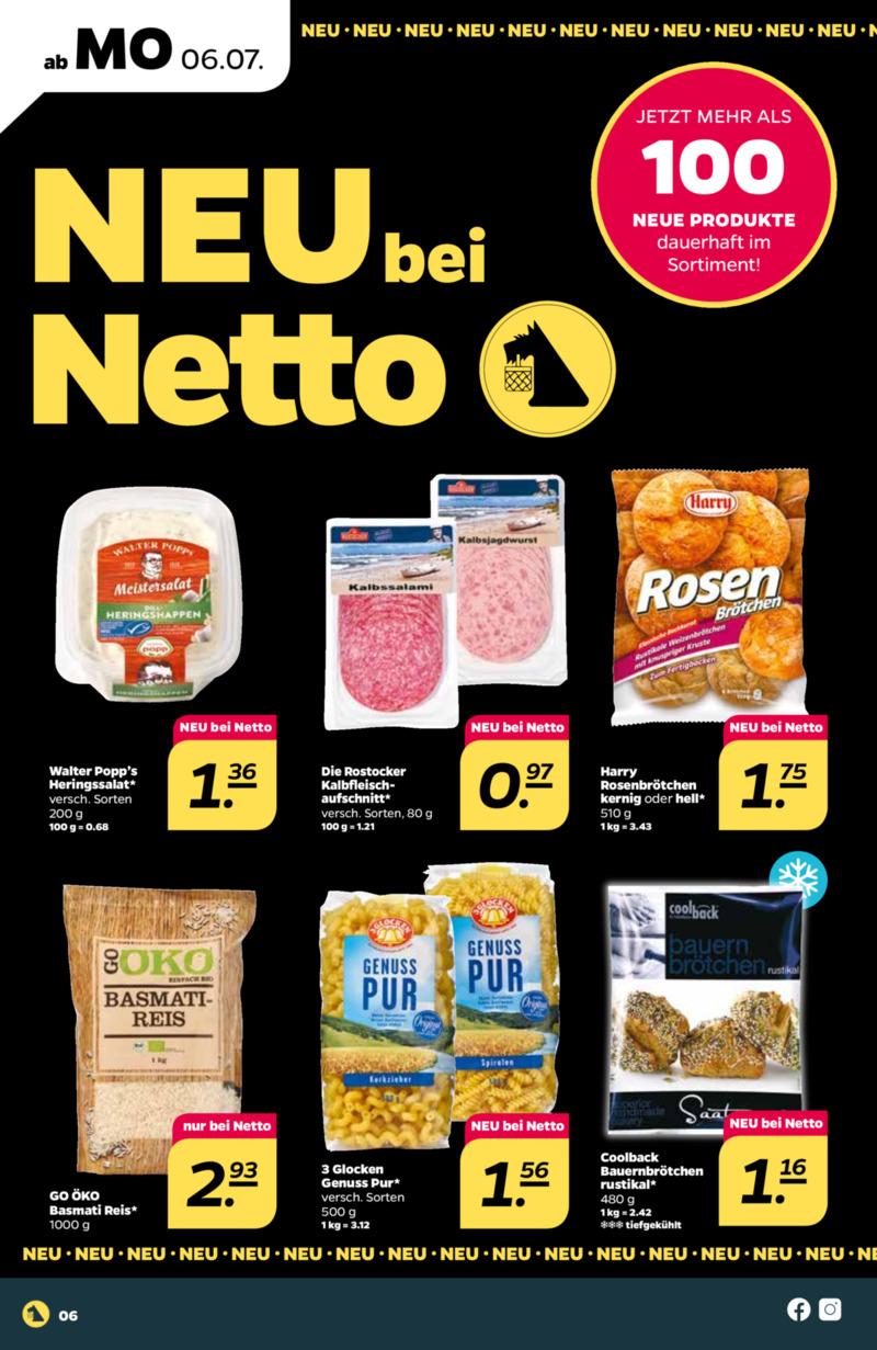 NETTO Supermarkt Prospekt vom 06.07.2020, Seite 9
