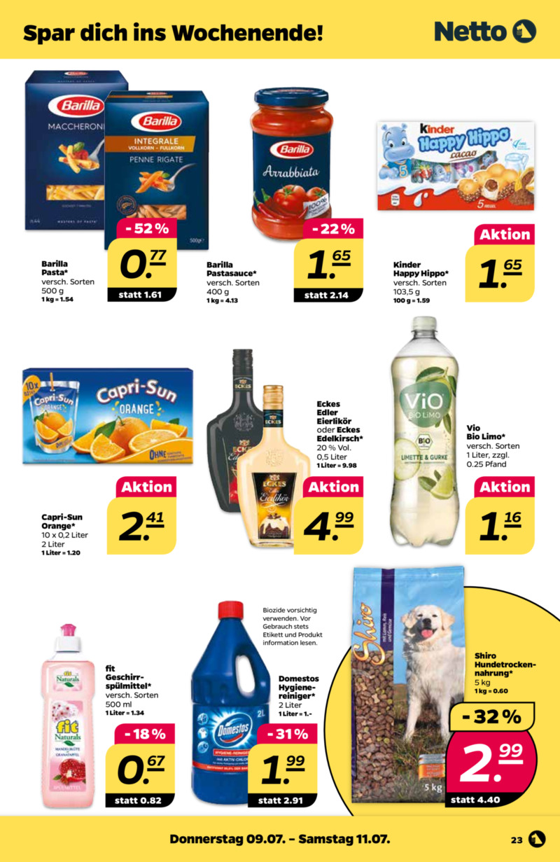 NETTO Supermarkt Prospekt vom 06.07.2020, Seite 26