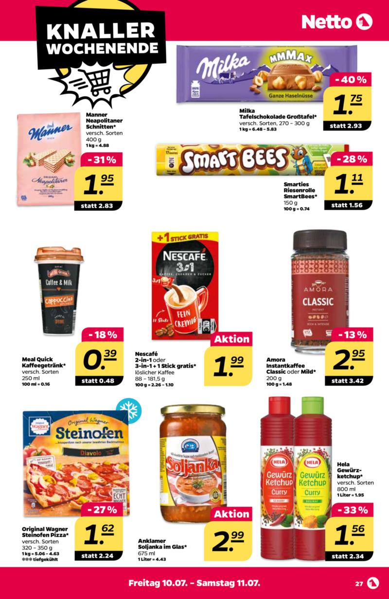 NETTO Supermarkt Prospekt vom 06.07.2020, Seite 30