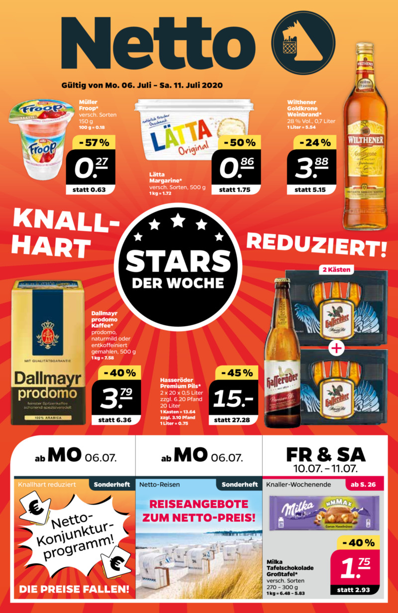NETTO Supermarkt Prospekt vom 06.07.2020, Seite 4
