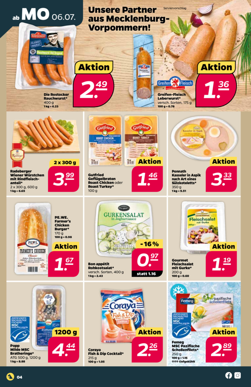 NETTO Supermarkt Prospekt vom 06.07.2020, Seite 7