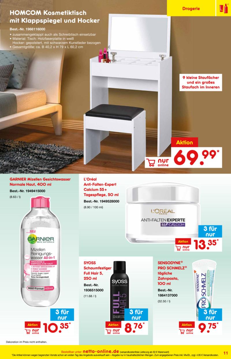 Netto Marken-Discount Prospekt vom 01.01.2019, Seite 10
