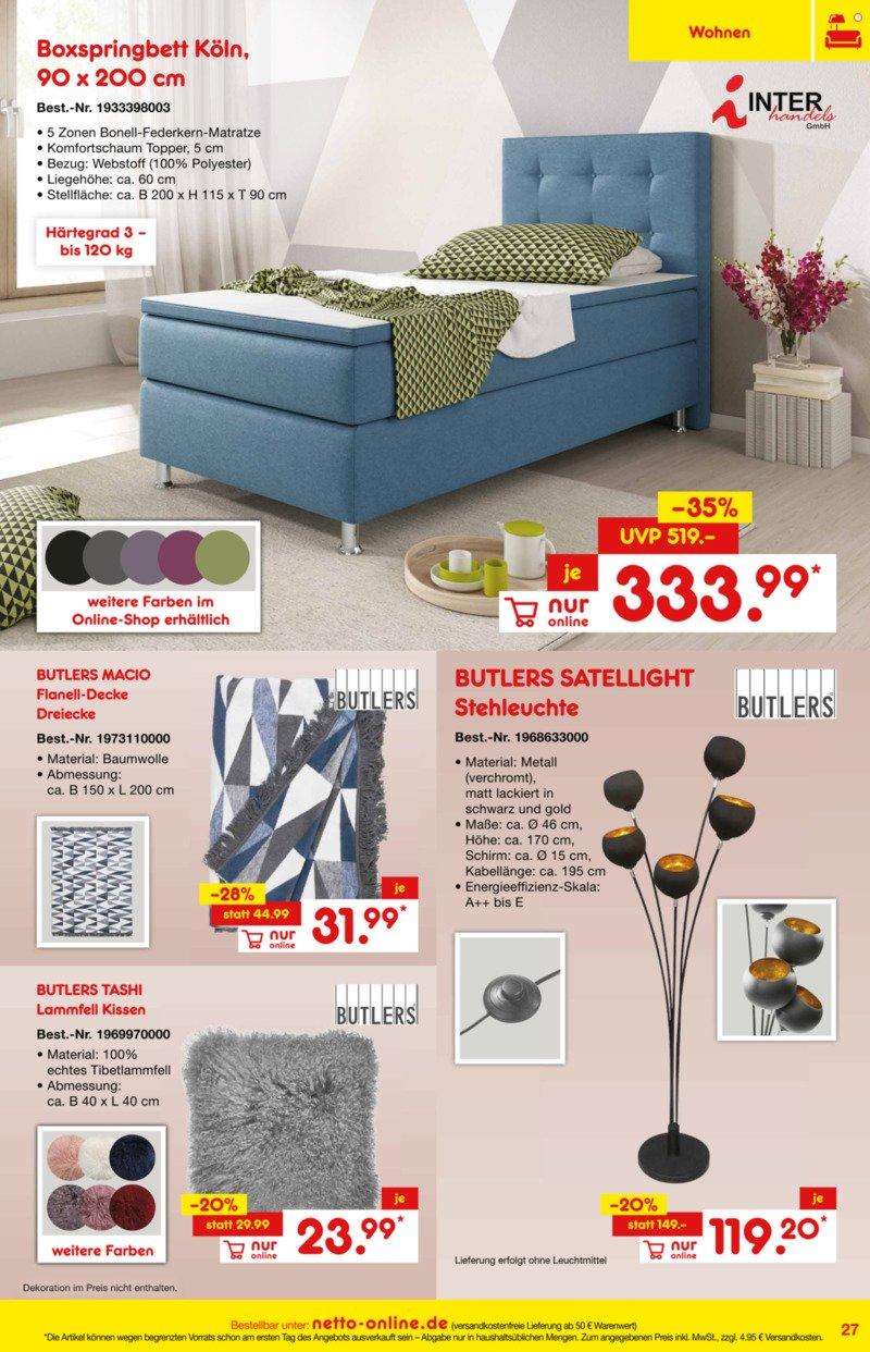 Netto Marken-Discount Prospekt vom 01.01.2019, Seite 26