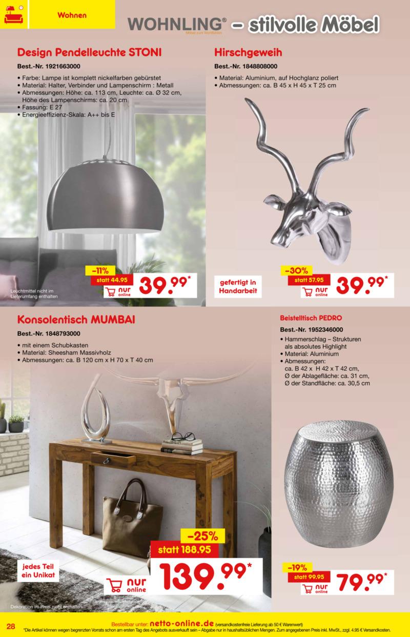Netto Marken-Discount Prospekt vom 01.01.2019, Seite 27