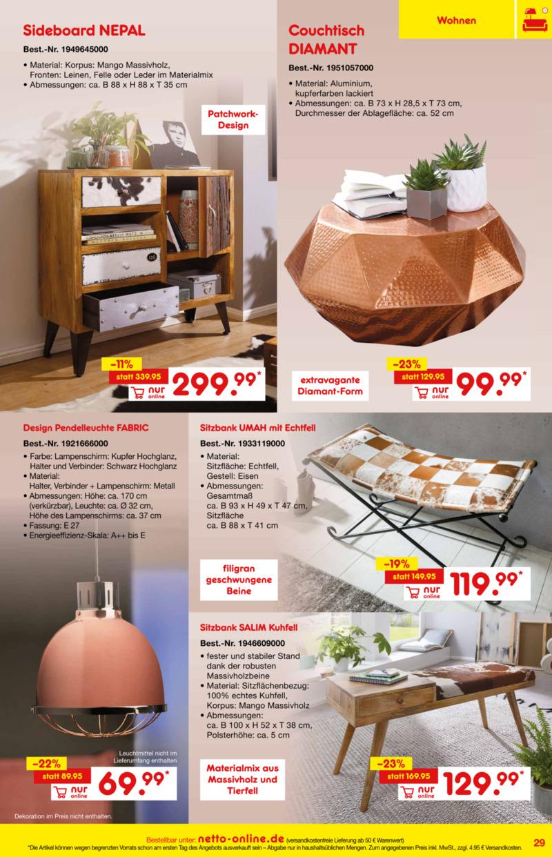 Netto Marken-Discount Prospekt vom 01.01.2019, Seite 28